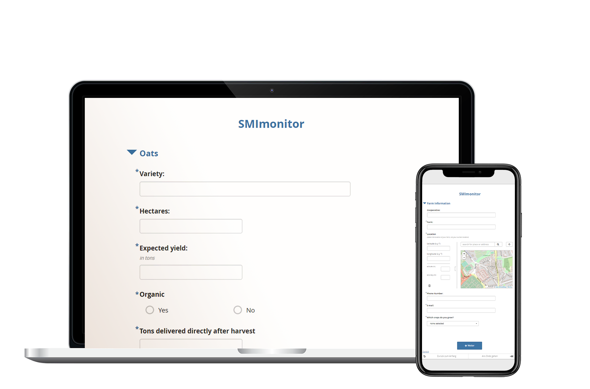 SMImonitor questionnaire tool for all devices